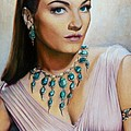 Anne Baxter In Ten Commandments  @ Ariesartist.com by AriesArtist Com