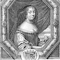 Anne De Baviere Duchesse D'enghien by Mary Evans Picture Library