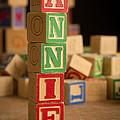 Annie - Alphabet Blocks by Edward Fielding