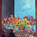 Annie's Flowers by Yvonne Gillengerten
