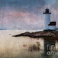 Annisquam Harbor Lighthouse by Jerry Fornarotto