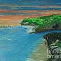 Ann's Beach On Lake Erie by Marie Bulger