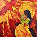 Annunciation by Patricia Brintle