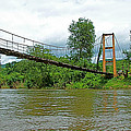 Another Bridge Over River Kwai In Kanchanaburi-thailand by Ruth Hager
