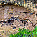 Another Dwelling On Chapin Mesa In Mesa Verde National Park-colorado  by Ruth Hager
