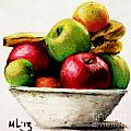 Another Fruit Bowl by Maria Leah Comillas