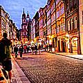 Another Prague Night - Czech Republic by Madeline Ellis