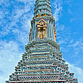 Another Stupa At Grand Palace Of Thailand In Bangkok by Ruth Hager