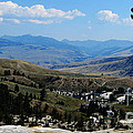 Another View From Mammoth In Yellowstone by Ron  Tackett