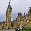 Another View Of Parliament Building In Ottawa-on by Ruth Hager