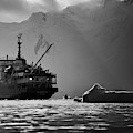 Antarctican Expedition 2013.  Ship Name by R. Tyler Gross