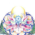 Antaryamin Oneness Art by Lydia Erickson