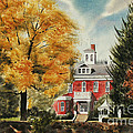 Antebellum Autumn Ironton Missouri by Kip DeVore