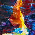 Antelope Canyon Light by Elise Palmigiani