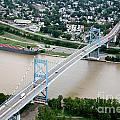 Anthony Wayne Bridge Toledo Ohio by Bill Cobb