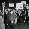 Anti-nazi Germany Parade In Los by Everett