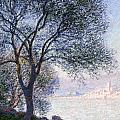 Antibes Seen From The Salis by Claude Monet