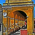 Antigua Arches by Maria Huntley