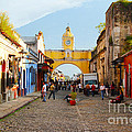 Antigua Guatemala Clock by Carey Chen