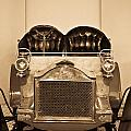 Antique Auto In Sepia by Douglas Barnett