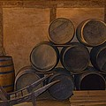 Antique Barrels And Carte by Richard Jenkins