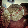 Antique Baseballs Still Life by Bill Owen