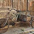 Antique Bicycle In The Town Of Daxu by David Davis