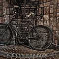 Antique Bicycle by Susan Candelario
