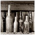 Antique Bottles by Jeff Leland
