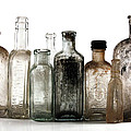 Antique Bottles by Richard Ortolano