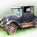 Antique Car by Bonnie Willis