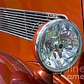 Antique Car Headlight by Gord Horne