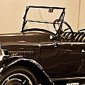 Antique Car In Sepia 1 by Douglas Barnett
