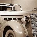 Antique Car In Sepia 2 by Douglas Barnett