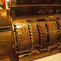 Antique Cash Register by Jerry Cowart