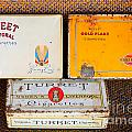Antique Cigarette Boxes by Les Palenik