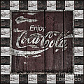 Antique Coca Cola Signs by John Stephens