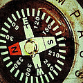 Antique Compass by Bill Owen