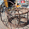 Fayetteville Texas Rings And Wheels by JG Thompson