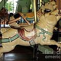 Antique Dentzel Menagerie Carousel Pigs by Rose Santuci-Sofranko