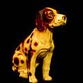 Antique Dog 3 by Mechala Matthews