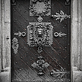 Antique Doors In Budweis by Christine Till