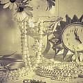 Antique Dressing Table by Amanda Elwell