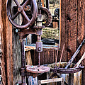 Antique Drill Press by Mountain Dreams