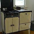 Antique Enameled Stove by George Pedro
