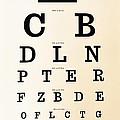 Antique Eye Chart by Lori Frostad