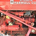 Antique Farmall Cub Engine by George Pedro
