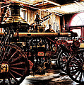 Antique Fire Engine by Bill Cannon