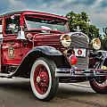 Antique Fire Engine by Pat Eisenberger