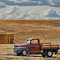 Antique Ford Truck by Sylvia Thornton